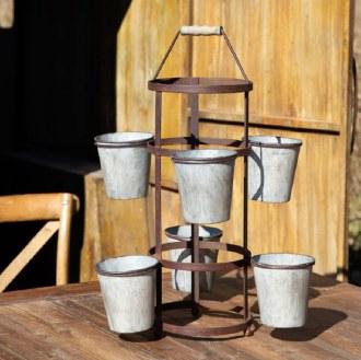 Gardeners Pot Rack