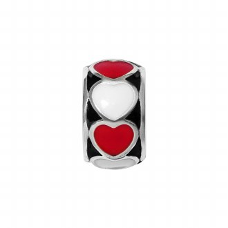Fashionista Red Heart Spacer