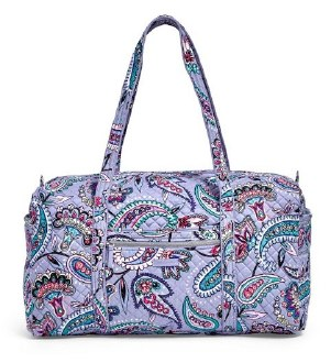 Iconic Large Travel Duffel Makani Paisley
