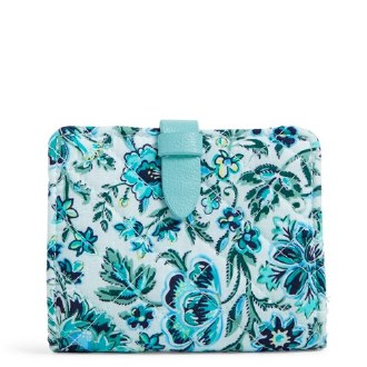 Iconic RFID Small Wallet Cloud Vine