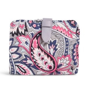 Iconic RFID Small Wallet Gramercy Paisley