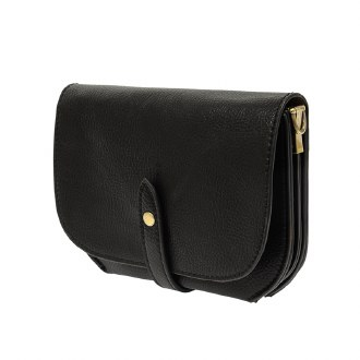 Harper Convertible Belt Bag Black