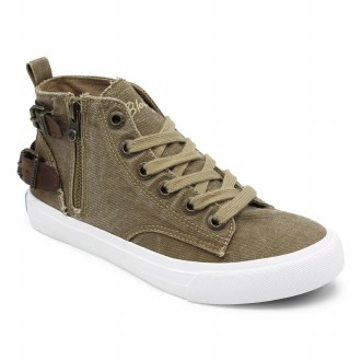 Whiskey High Top Sneaker 7.5