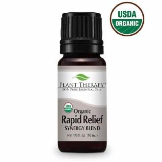 Rapid Relief Organic Essential Oil 10ml