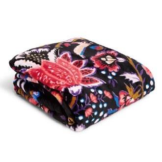 Plush Throw Blanket Foxwood
