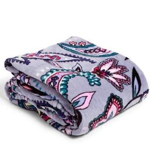 Plush Throw Blanket Makani Paisley