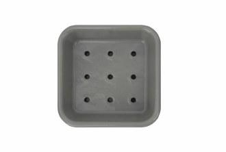 Enamel Soap Dish w/ Drain Plat