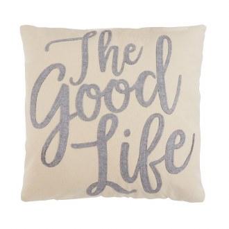 Good Life Felt Pillow