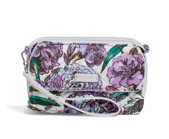 Iconic RFID All in One Crossbody Lavender Meadow