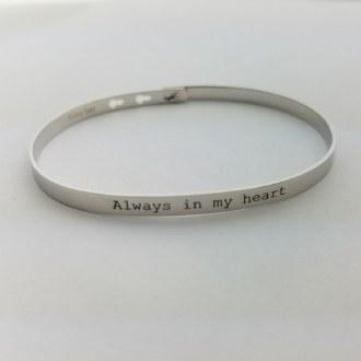 Always in my Heart (Silver)