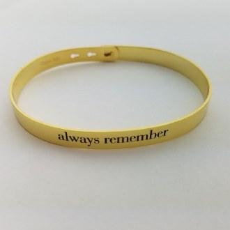 Alwasy Remember (Gold)