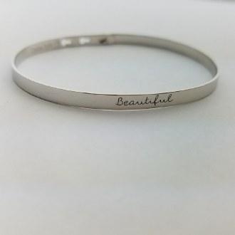 Beautiful (Silver)