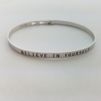 Believe in Yourself (Silver)