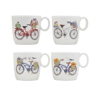 Bicycle Stoneware Mug