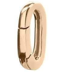 Brass Charm Clip