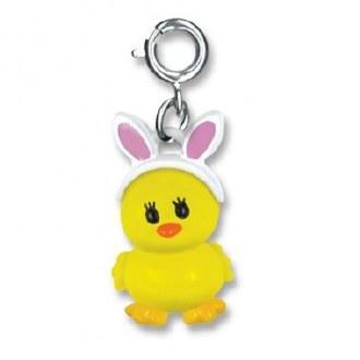Bunny Ears Chick Charm