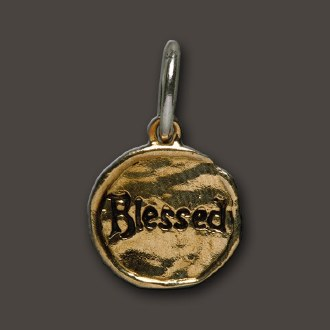 Brass Camp Blessed Charm
