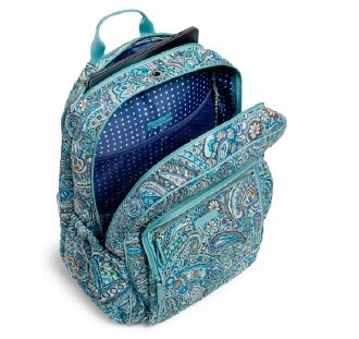 Iconic Campus Backpack Daisy Dot Paisley