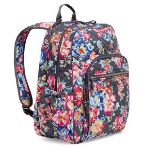 Iconic Campus Backpack Pretty Posies
