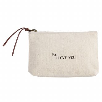 Canvas Pouch: P.S. I Love You
