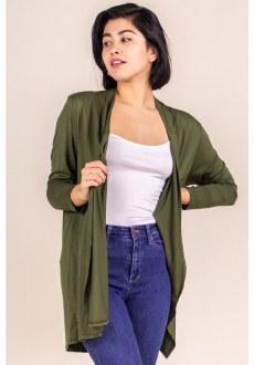 Bamboo 3/4 Sleeve Cardigan XL