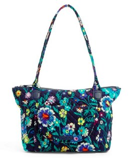 Carson East West Tote Moonlight Garden