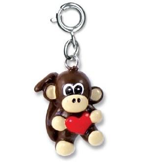 Charm It Monkey Heart Charm