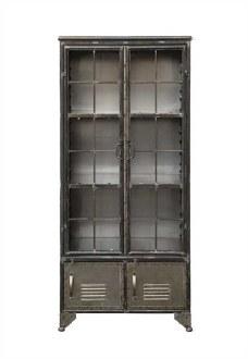 Metal Cabinet with 4 Doors
