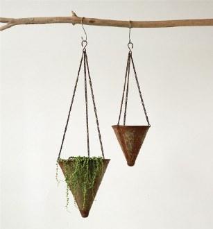 Iron Hanging Cone