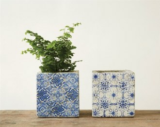 Concrete Tile Planter