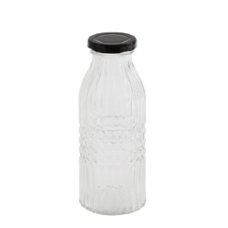 Glass Bottle w/ Lid
