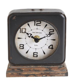 Pewter Clock