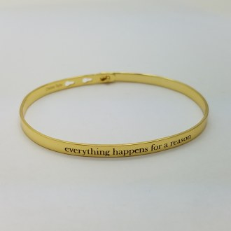 Everything Happens for A Reason (Gold)