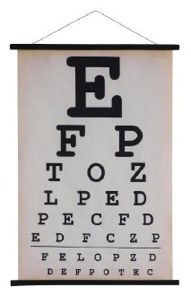 Canvas Eyechart