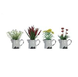 Faux Flowers in Ceramic