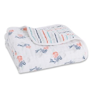 Fish Pond Dream Blanket