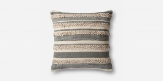 Grey/Ivory Pillow