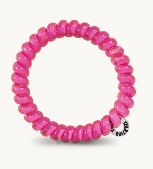 Small Teleties Hot Pink