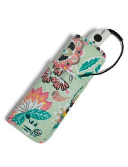 Iconic Curling & Flat Iron Cover Mint Flowers