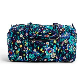 Iconic large Travel Duffel Moonlight Garden