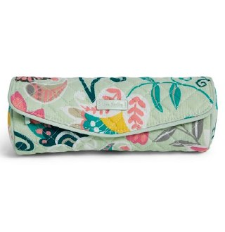 Iconic On a Roll Case Mint Flowers