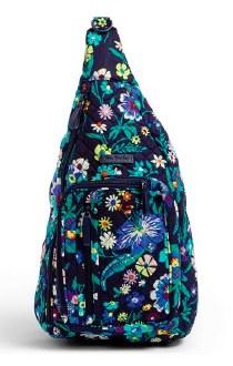 Iconic Sling Backpack Moonlight Garden