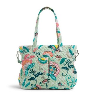 Iconic Ultimate Baby Bag Mint Flowers