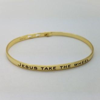 Jesus Take The Wheel (Gold)