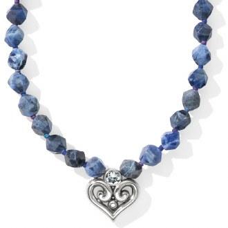 Alcazar Heart Short Necklace