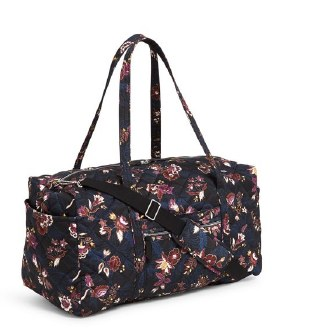 Iconic Large Travel Duffel Garden Dream