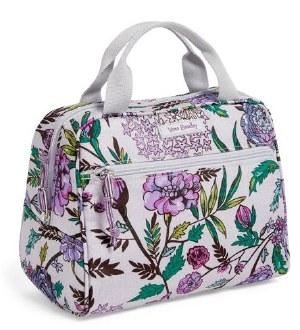 Lighten Up Lunch Cooler Lavender Botanical