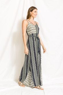 Maxi Dress Print Mix Small