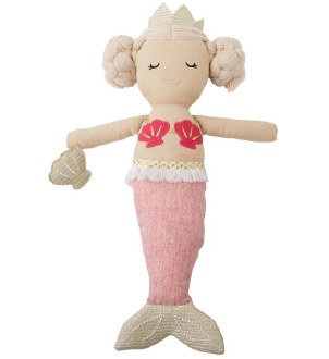 Mermaid Doll w/ Light Pink Tail