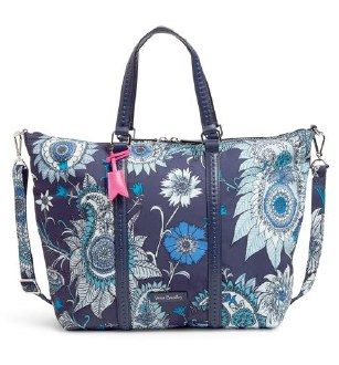 Midtown Small Tote Cornflower Blossoms